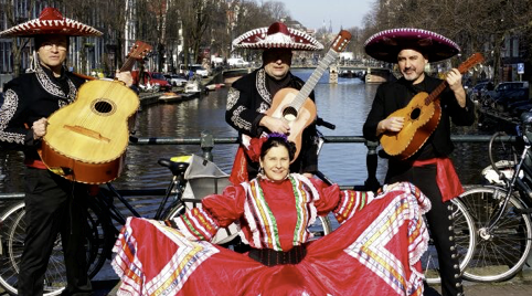 Mariachi band in Duitsland