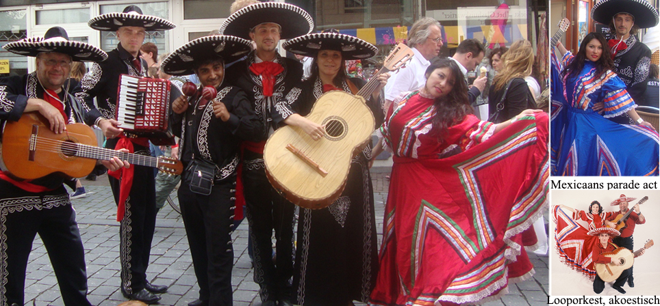 Mariachi zoals in Mexico stad